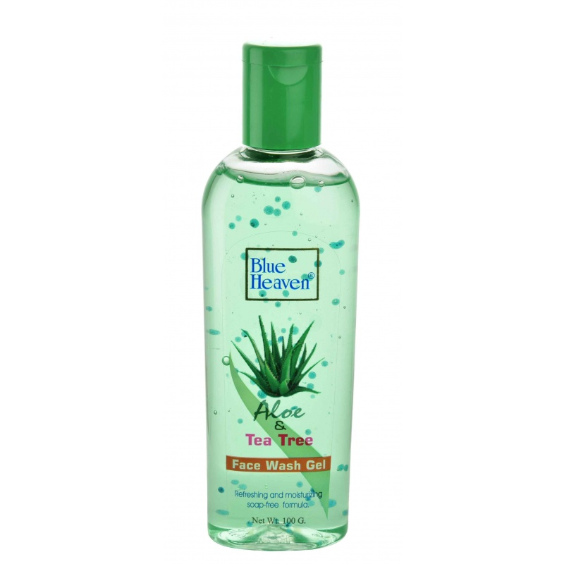 Blue Heaven Aloe Vera & Tea Tree Face Wash