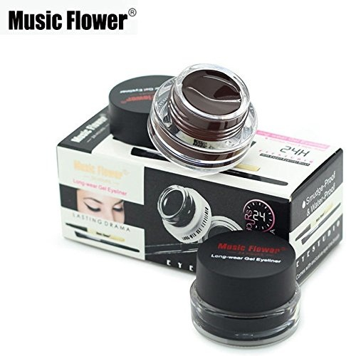 Music Flower 2 in 1  Gel Eyeliner