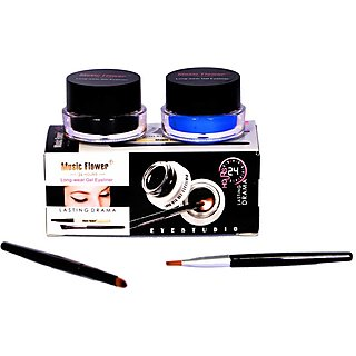 Music Flower 2 in 1 Gel Eyeliner (Blue)