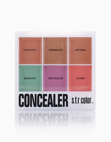 S.F.R Color Concealer Pallete 02