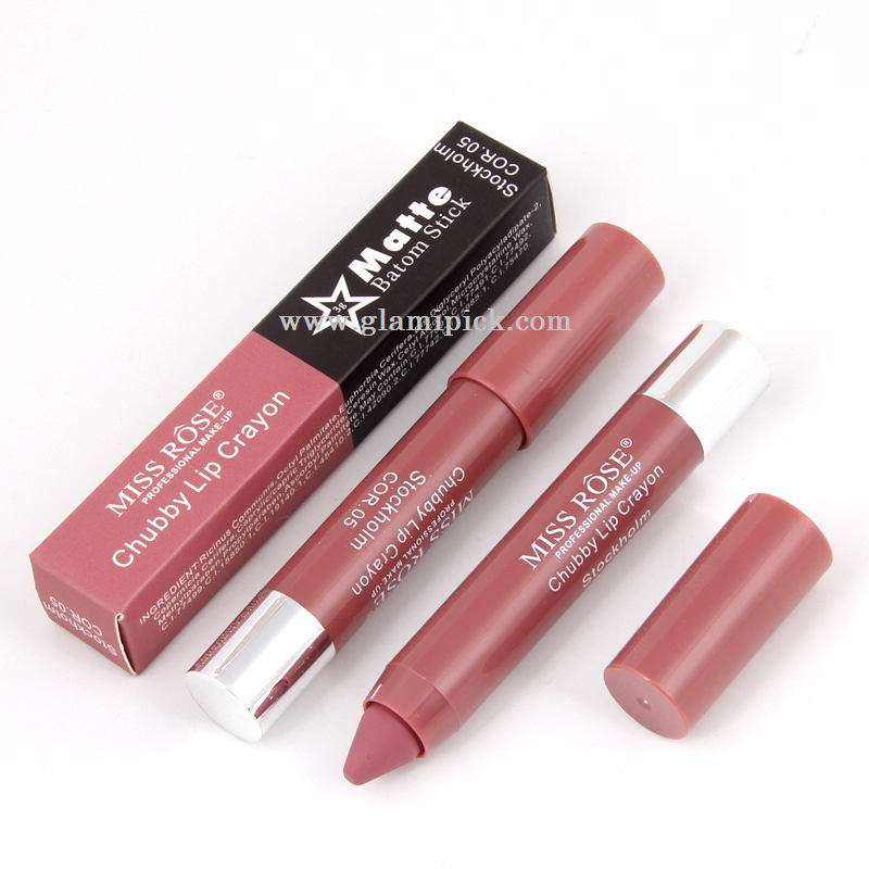 Miss Rose Chubby Lip Crayon - Stockholm