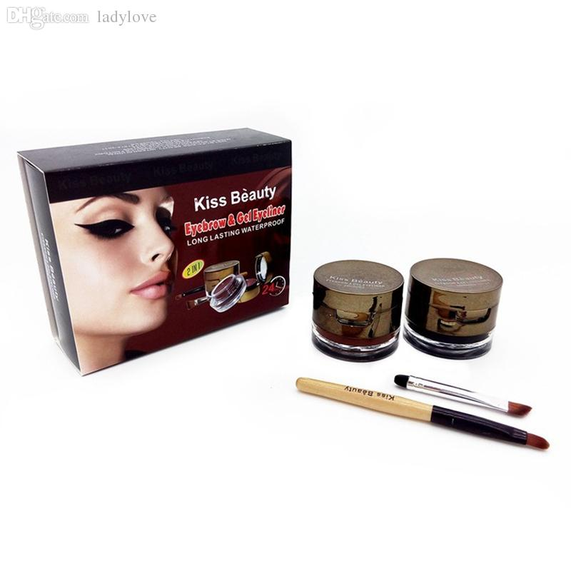 Kiss Beauty eyebrow & gel eyeliner