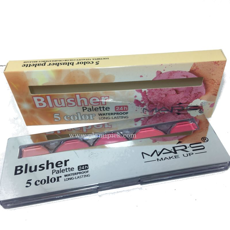 Mars 5 color blush pallet