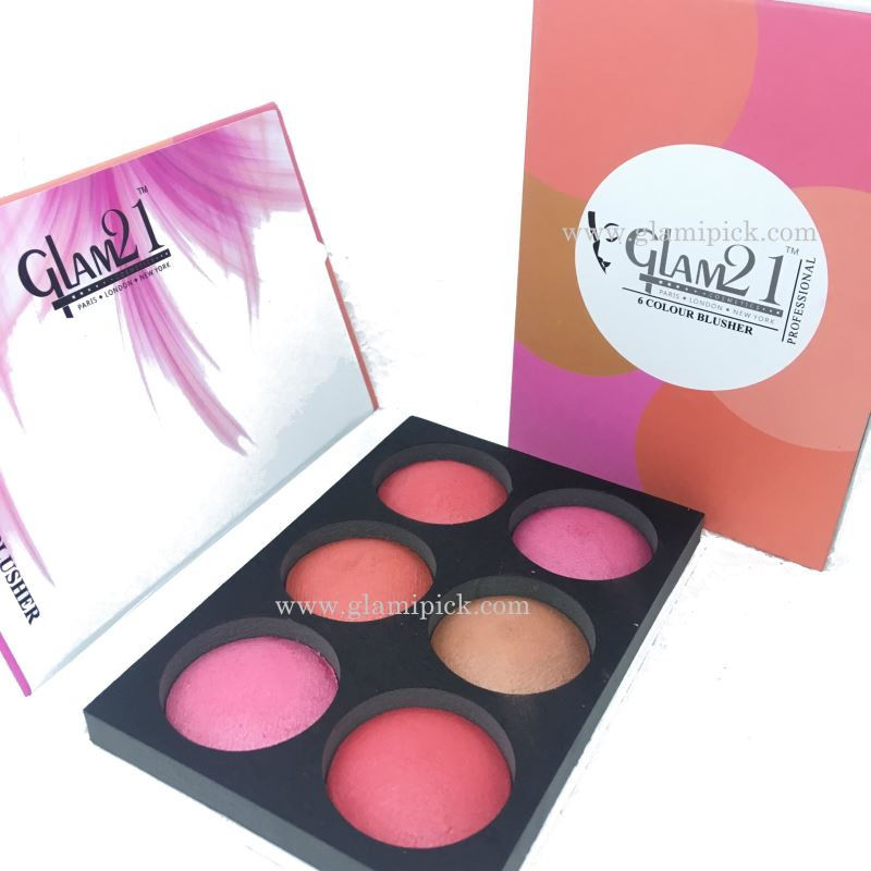 Glam21 6 color blush pallet