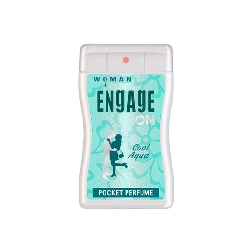 Engage On Woman Cool Aqua Pocket Perfume