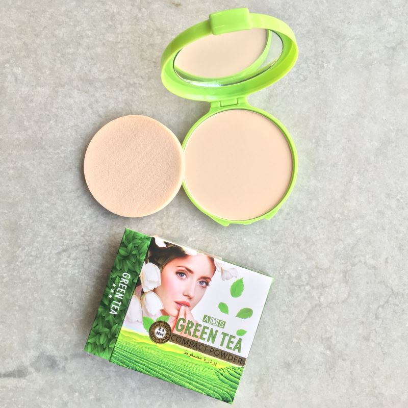 ADS Green Tea Compact Powder
