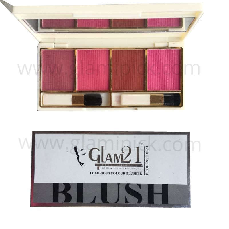 Glam21 4 color Blush pallet