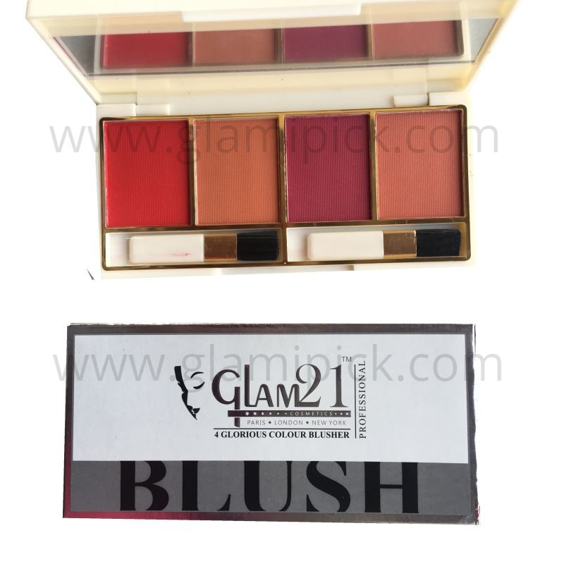 Glam21 4 color Blush pallet - 02
