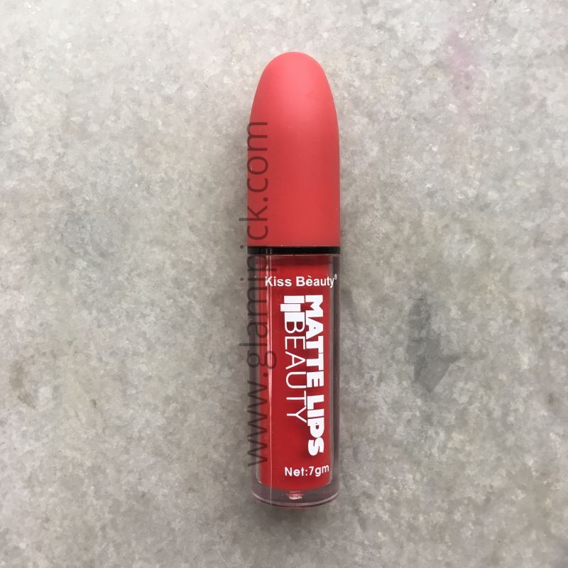 Kiss Beauty Long Lasting Matte Lips - 06