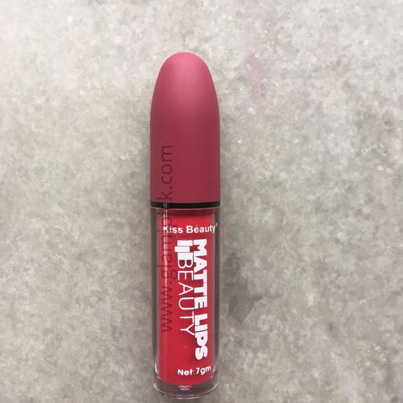 Kiss Beauty Long Lasting Matte Lips - 11