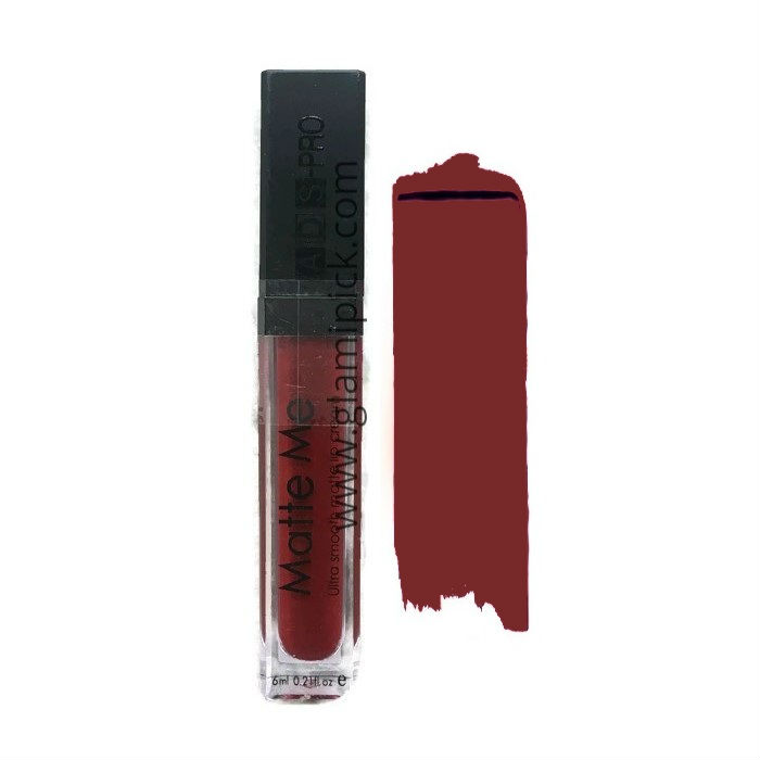 ADS Matte Me lipstick - Dark Purple