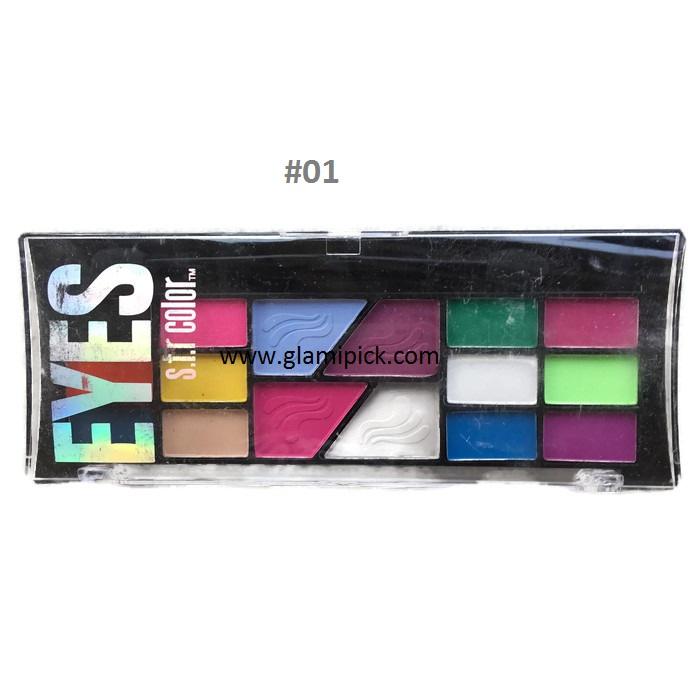 S.F.R Color eyeshadow 16 colors - 1