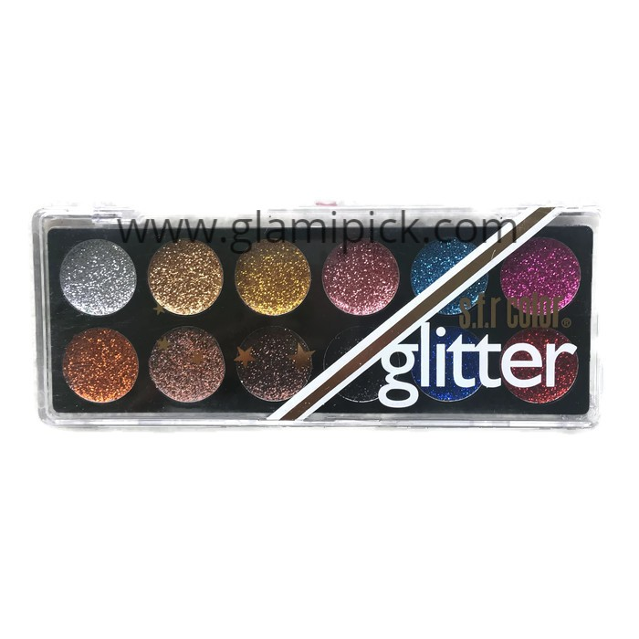 Sfr Glitter 12 color palette - 03