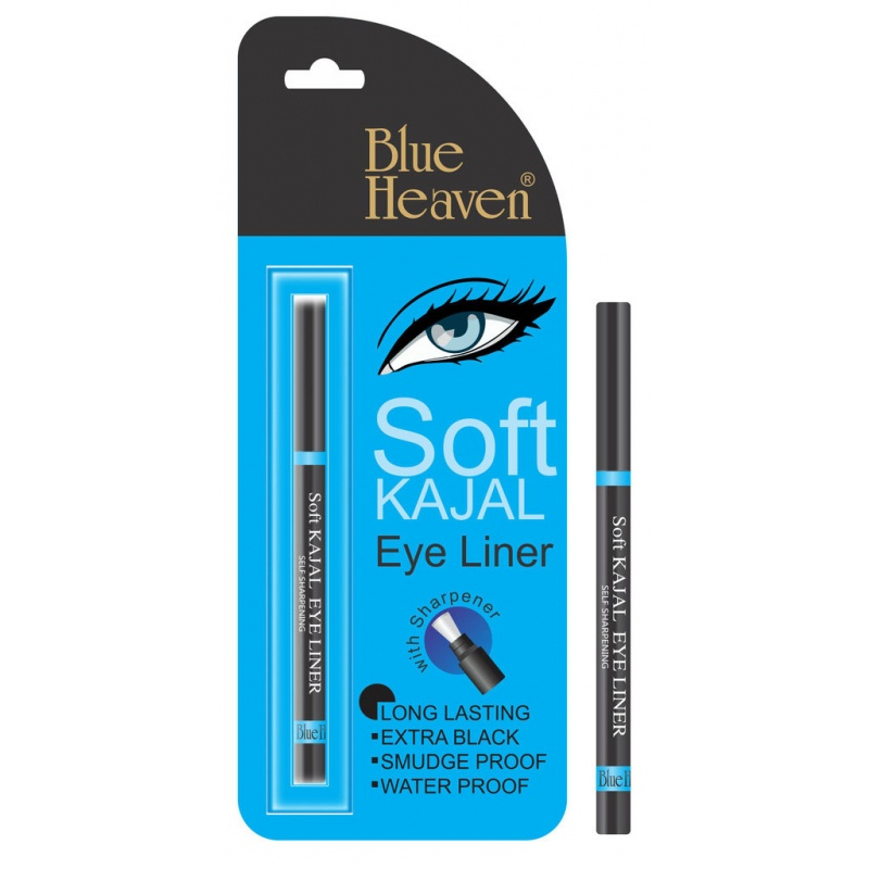 Blue Heaven soft Kajal Eyeliner (Black)