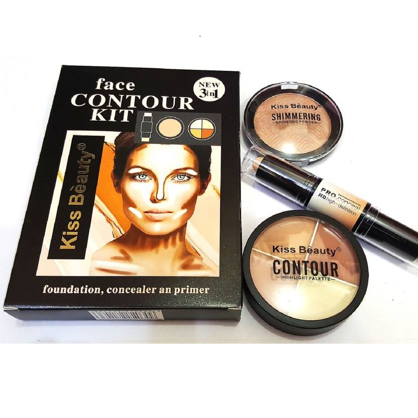 Kiss Beauty Contour Kit