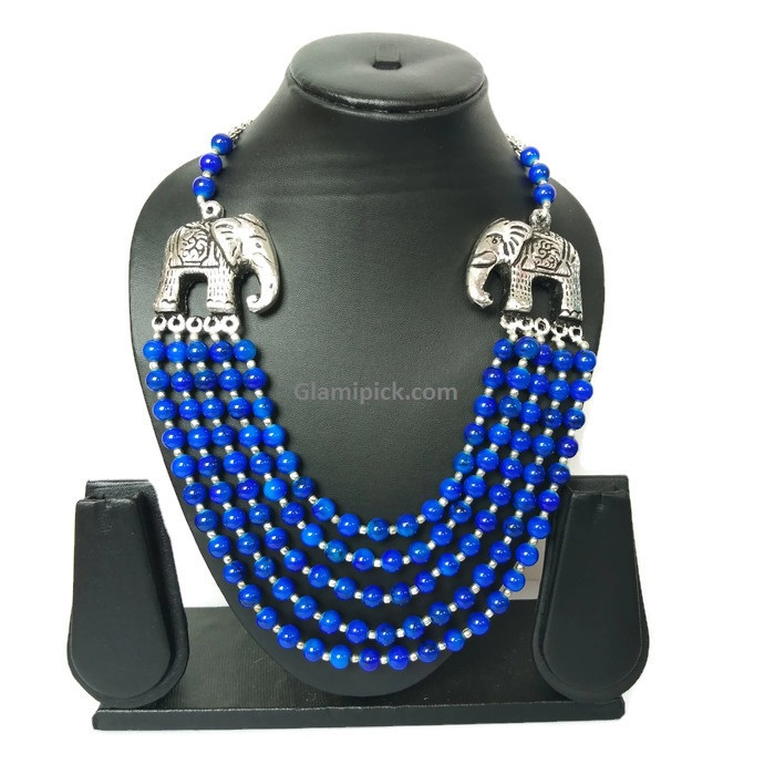 Kundan Pearl Necklace Jewellery