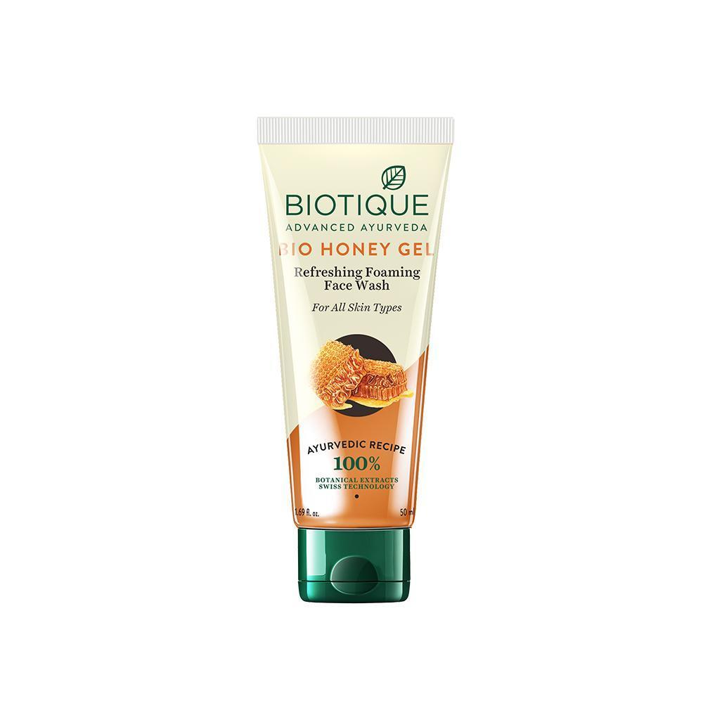 Biotique Bio Honey Gel Refreshing Foaming Face Wash