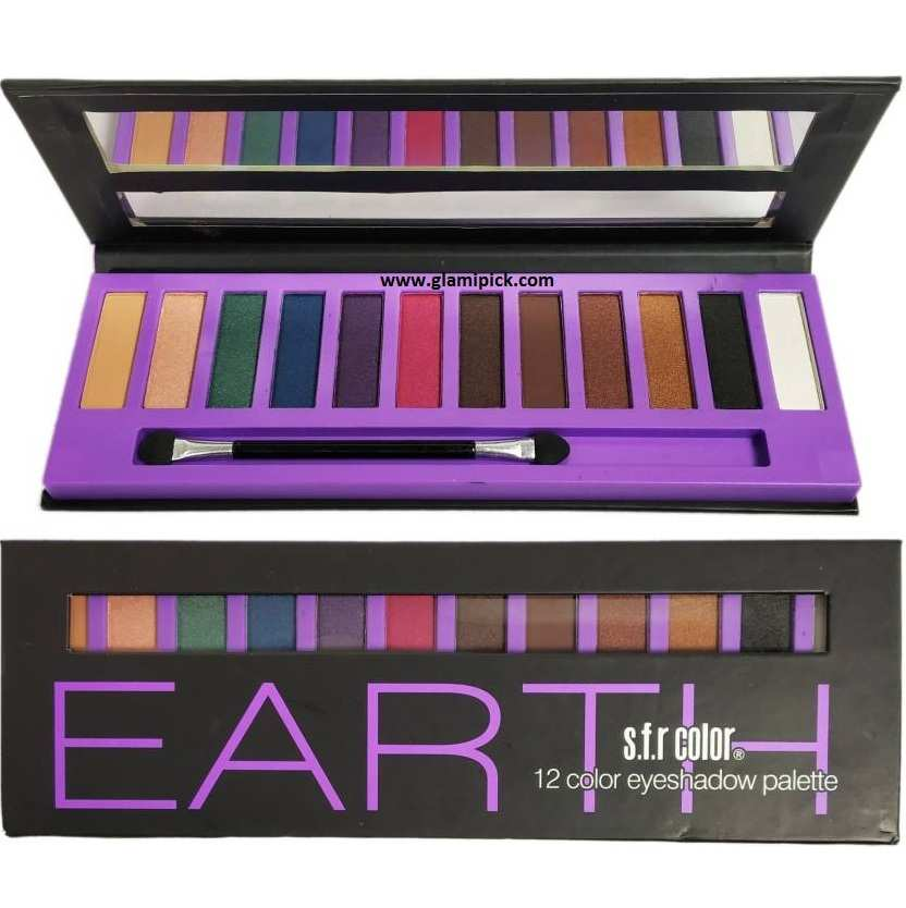 S.F.R Color eyeshadow - Earth
