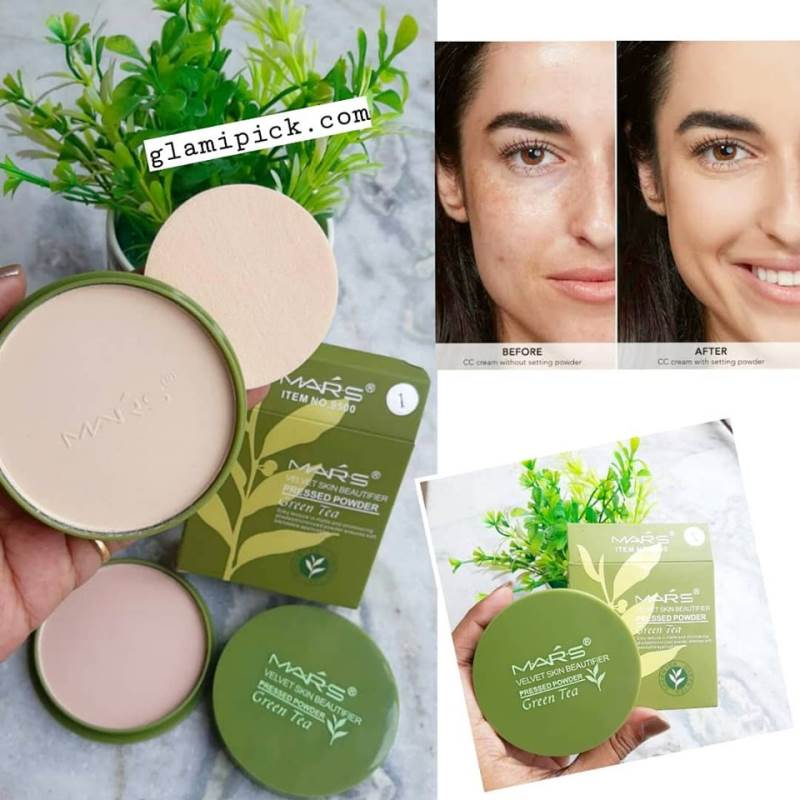 Mars Green Tea Compact Powder