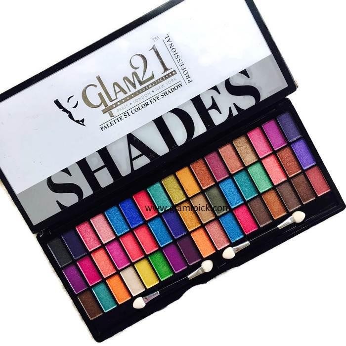 Glam21 51 colors Eyeshadow