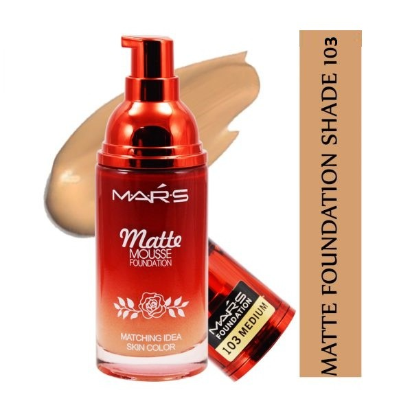 Mars Matte Mousse Foundation Medium