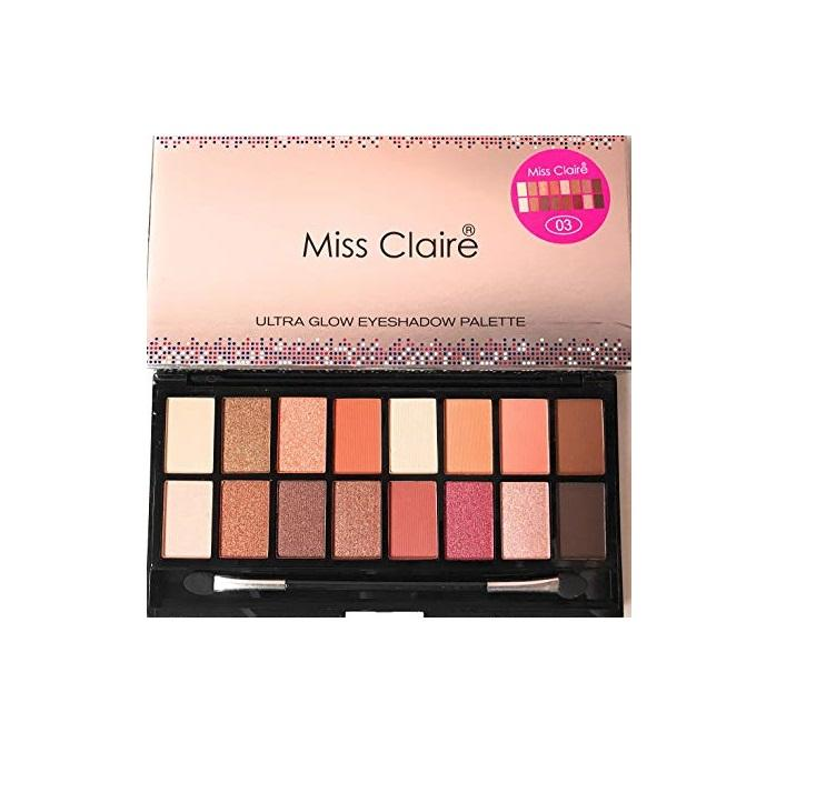 Miss Claire Ultra Glow Eyeshadow Palette 3
