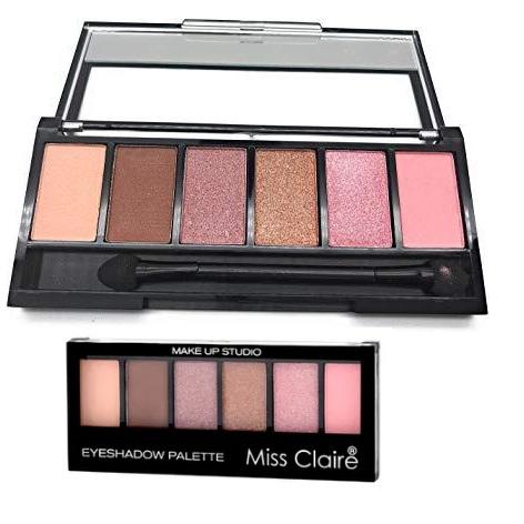 Miss Claire Makeup Studio Eyeshadow Palette - 4
