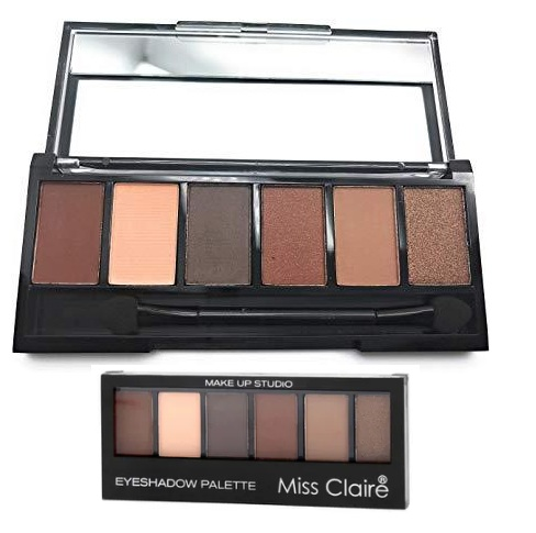 Miss Claire Makeup Studio Eyeshadow Palette - 3