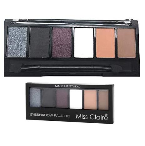 Miss Claire Makeup Studio Eyeshadow Palette - 1