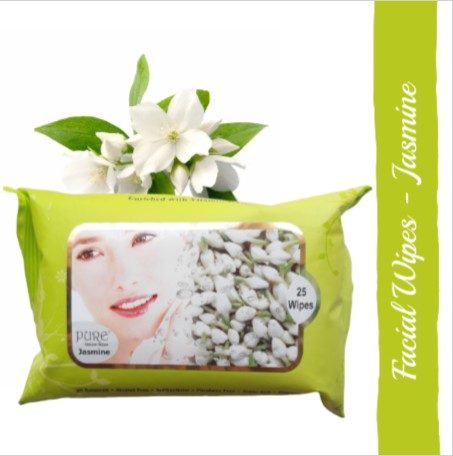 Pure Refreshing Face Wipes - Jasmine