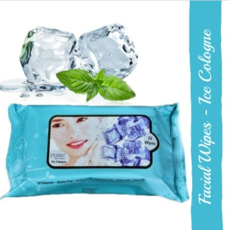 Pure Refreshing Face Wipes - Ice Cologne