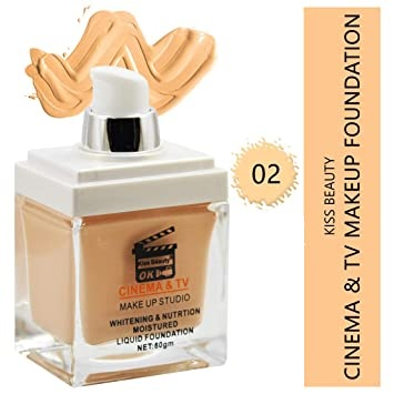 Kiss Beauty Cinema foundation