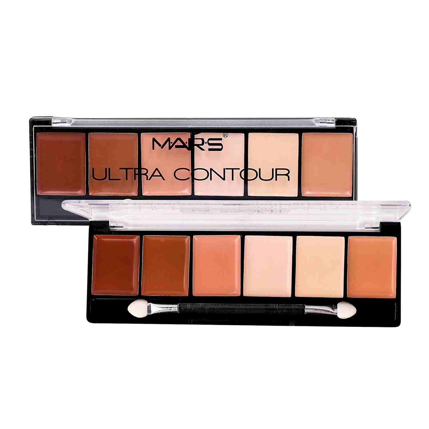 Mars Ultra Mineral Contour Palette Bright Glow