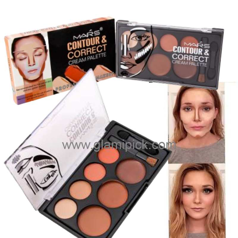 Mars Contour and Correct Cream Palette