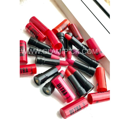 ADS Ultra Ceramide Matte Multicolor Lipstick - Set Of 12