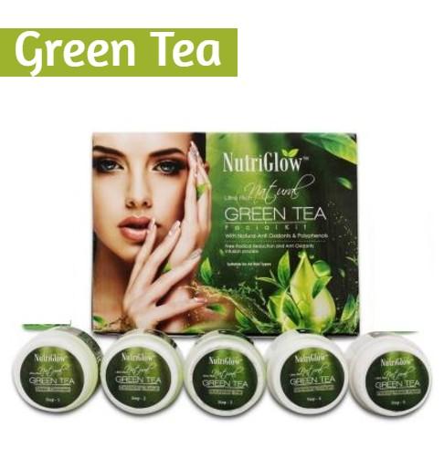 NutriGlow Green Tea Facial Kit