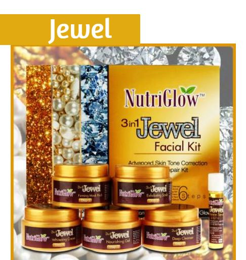 NutriGlow jewel facial kit