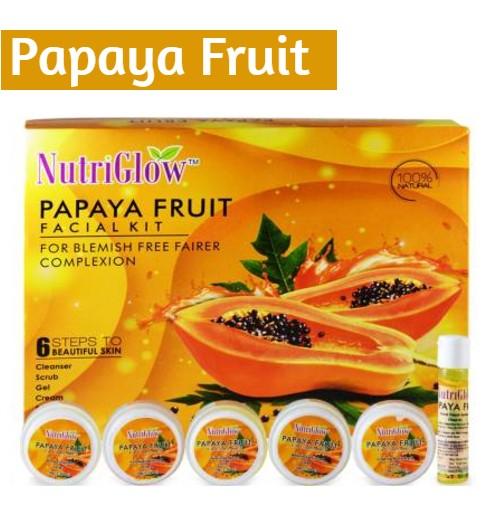 NutriGlow Papaya Fruit Facial Kit