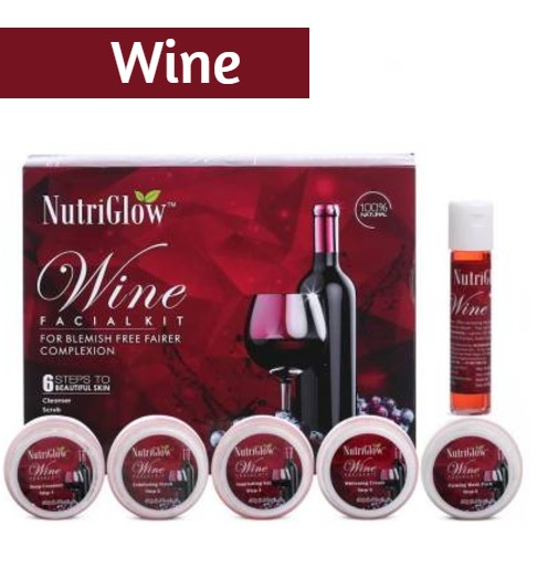 NutriGlow Wine Facial Kit