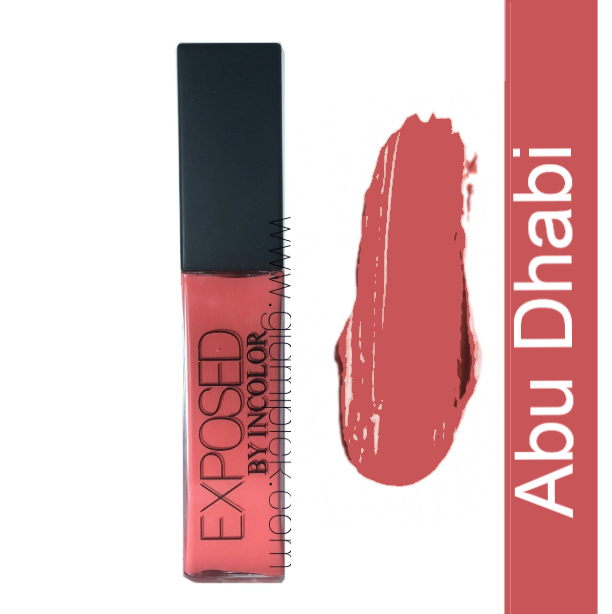Incolor Exposed Soft Matte Lip Cream- Abu Dhabi