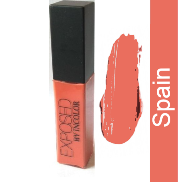 Incolor Exposed Soft matte Lip Cream - Spain