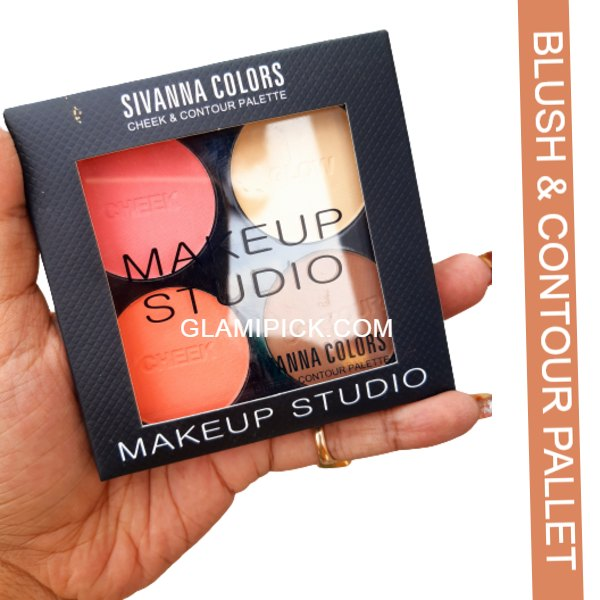 Sivanna Color cheek & contour Pallet - A