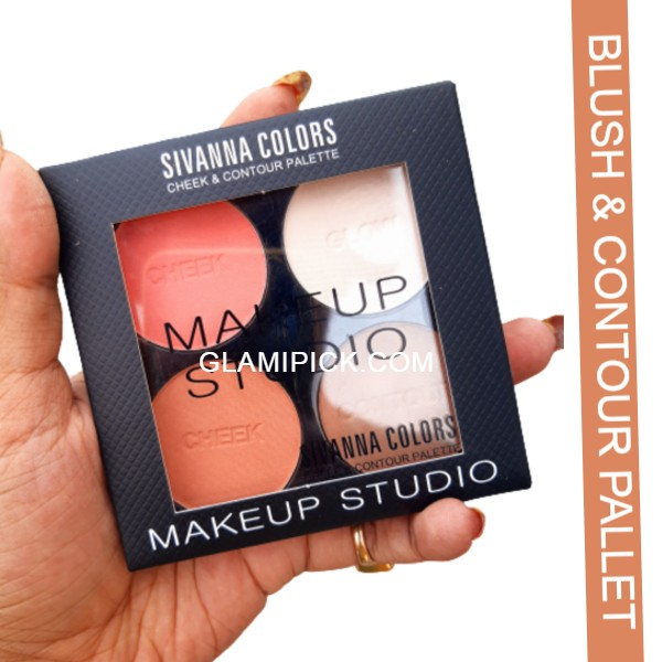 Sivanna Color cheek & contour Pallet - B