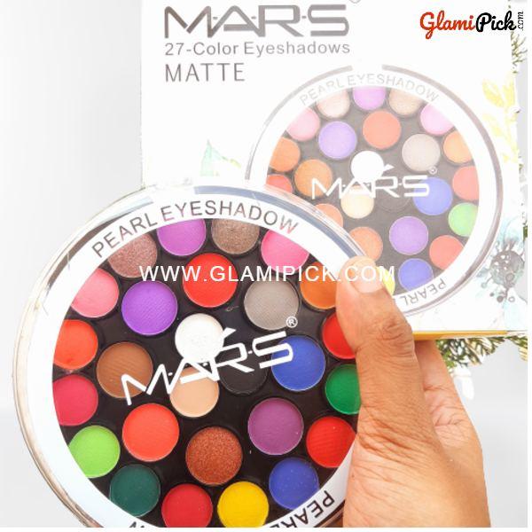Mars Matte Eyeshadow palette - Matte