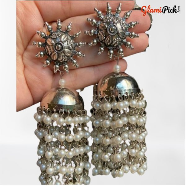 Jhumki Earring with bids