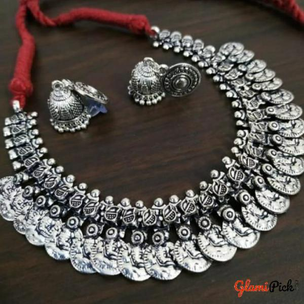 Alloy Oxidized Jewelry  Set
