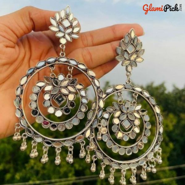Trendy Mirror Earrings