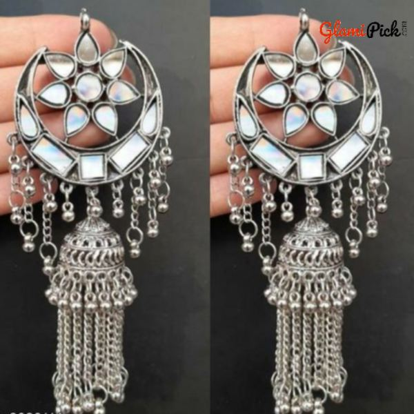 Trendy alloy mirror Earrings