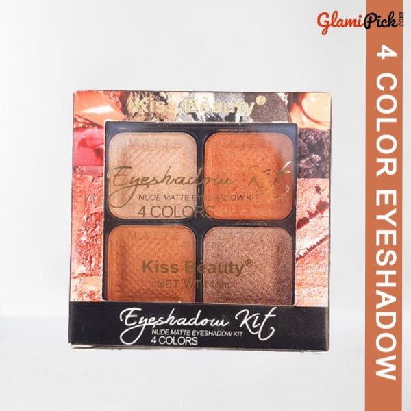 Kiss Beauty 4 color Eyeshadow 2
