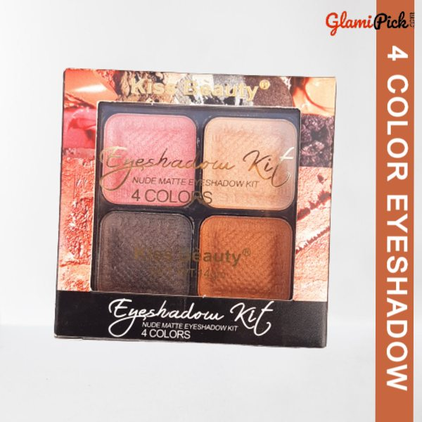 Kiss Beauty 4 color Eyeshadow 3